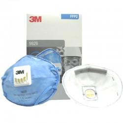 MASCARILLA 3M GAS/ACIFFP2C/VALV 10U 9926