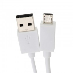 "CABLE USB MICRO A HDMI ""A"" 2 MT BLANCO DUOLEC"