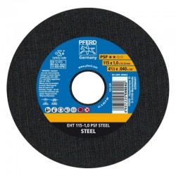 DISCO DE CORTE EHT 115 X 1,0 A60 PSF STEEL PFERD-CABALLITO