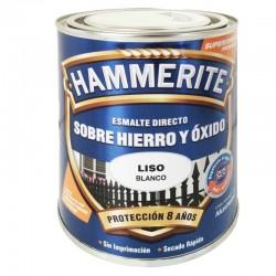ESMALTE HAMMERITE 2,5L BLANCO LISO