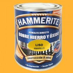 ESMALTE HAMMERITE 2,5L AMARILLO LISO