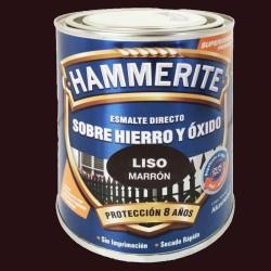ESMALTE HAMMERITE 2,5L MARRÓN LISO