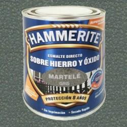 ESMALTE HAMMERITE 2,5L GRIS MARTELÉ