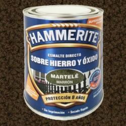ESMALTE HAMMERITE  2,5L MARRON MARTELÉ