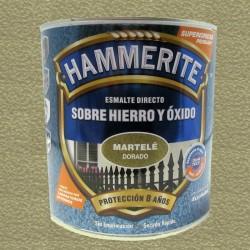 ESMALTE HAMMERITE 2,5LT DORADO MARTELE