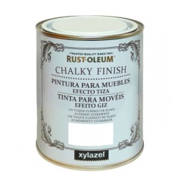 PINTURA CHALKY FINISH 125ML BLANCO ANTIGUO