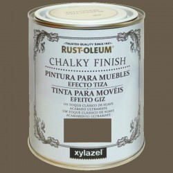 PINTURA CHALKY FINISH 125ML CACAO