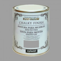 PINTURA CHALKY FINISH 125ML GRIS INVIERNO