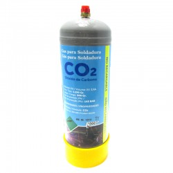 BOTELLA GAS CO2 100% ACERO 1LT