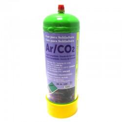 BOTELLA GAS ARGON-80% CO2-20% INOX. 1LT