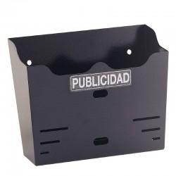 BUZÓN PUBLICIDAD NEGRO BANDEJA 00181 BTV