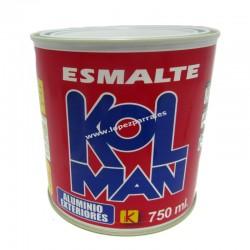 ESMALTE ALUMINIO EXTERIORES 750 ML KOLMAN
