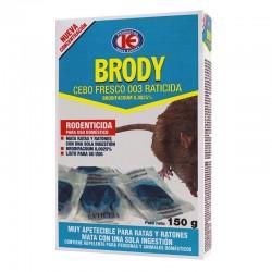 RATICIDA CEBO FRESCO 150 GR BRODY