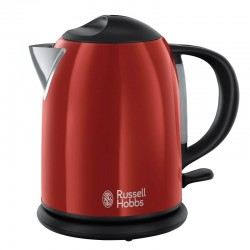HERVIDOR 1L FAME RED RUSSELL HOBBS