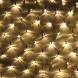 GUIRNALDA EXTERIOR 320 LED BLANCO CALIDO