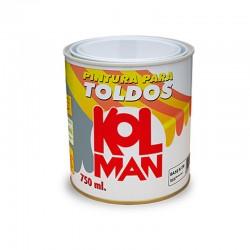PINTURA TOLDOS LONAS PVC METACRILATO BLANCO 750 ML