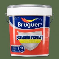 REVESTIMIENTO VERDE LISO EXTERIOR PROTECT 15L BRUGUER
