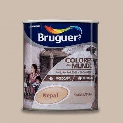 COLORES DEL MUNDO NEPAL BEIG NATURAL 750ML